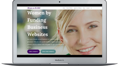 Web Design for Special Causes and Fundraisers